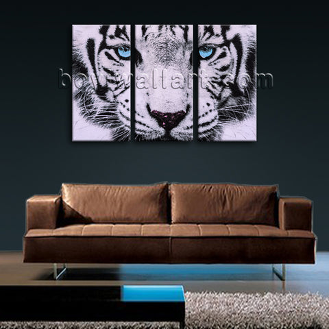 Large Tiger Painting Picture Photography Oil Bedroom 1 Pieces Giclee Print