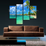 Large Tropical Beac Hbeach Wall Art Photography Oil Painting Bedroom Prints