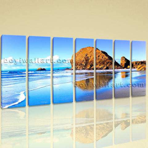 Extra Large Nature Landscape Beac Hbeach Wall Decor Painting Canvas Prints