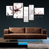 Extra Large Living Room Mural Flower Wall Art Tulip Flowers Canvas Bedroom Print