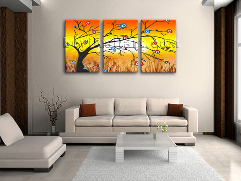 Large Modern Abstract Tree Wall Art Decor Living Room 1 Pieces Canvas Print