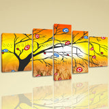 Extra Large Modern Abstract Tree Hd Print Painting On Canvas Art