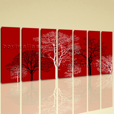 Extra Large Abstract Murals For Wall Floral Canvas Art Modern Painting On Print