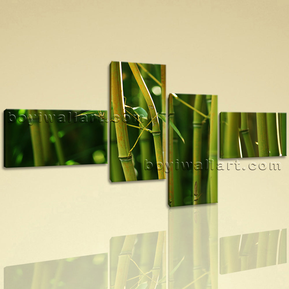 Large Modern Contemporary Feng Shui Wall Art HD Print On Canvas ...