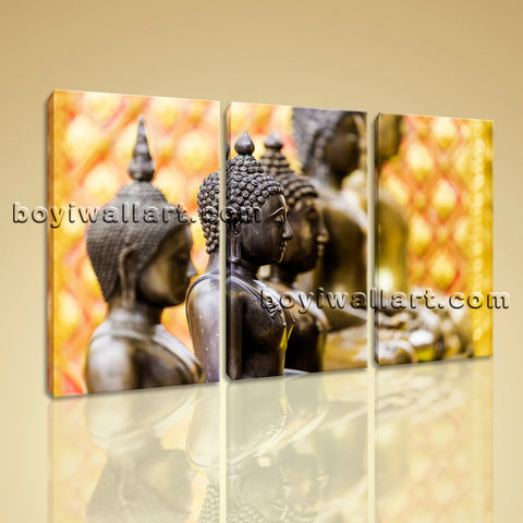 Buddha Zen Modern Contemporary Abstract Art Painting Canvas Wall Art HD Print