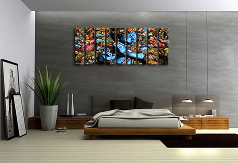 Feng Shui Buddha Painting Zen Wall Art Contemporary Abstract Home Decor