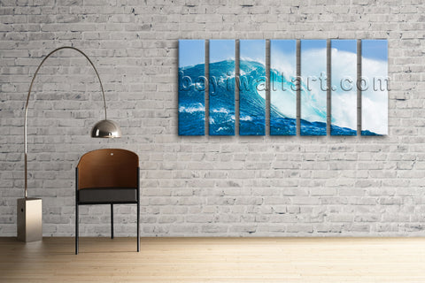 Oversized Hd Print Seascape Beach Painting Modern Canvas Wall Art Ocean Waves
