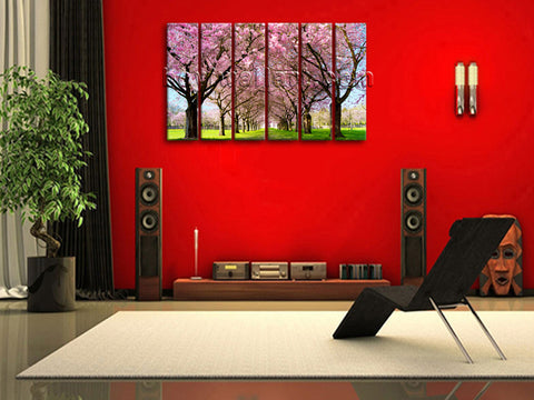 X Large Size Prints Landscape Tree Painting Modern Art Wall Decor Living Room