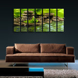 X Large Contemporary Feng Shui Zen Wall Art Canvas Print Decorative Home Decor