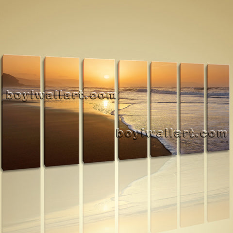 Extra Large Canvas Print Seascape Hd Home Decor Abstract Contemporary Wall Art