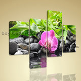 Large Feng Shui Painting Zen Print Home Decor Living Room Tetraptych Panels