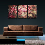 Large Sprint Flowers Floral Contemporary Home Decor Wall Art Print Living Room