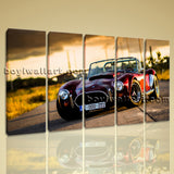 Large Cobra Classic Car Other Photography On Canvas Print Wall Art Dining Room