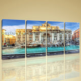 Large Rome Italy Ancient Landscape Photography On Canvas Print Wall Art BedRoom