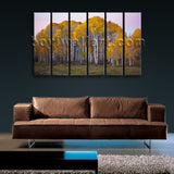 Large Deciduous Forest Fall Landscape Wall Art On Canvas Giclee Print Home Decor