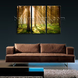 Large Beautiful Forest Landscape Photography Wall Art Print Canvas Decor BedRoom