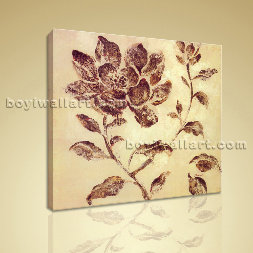 Contemporary Abstract Wall Art Home Decor Flower Picture Printed On Canvas