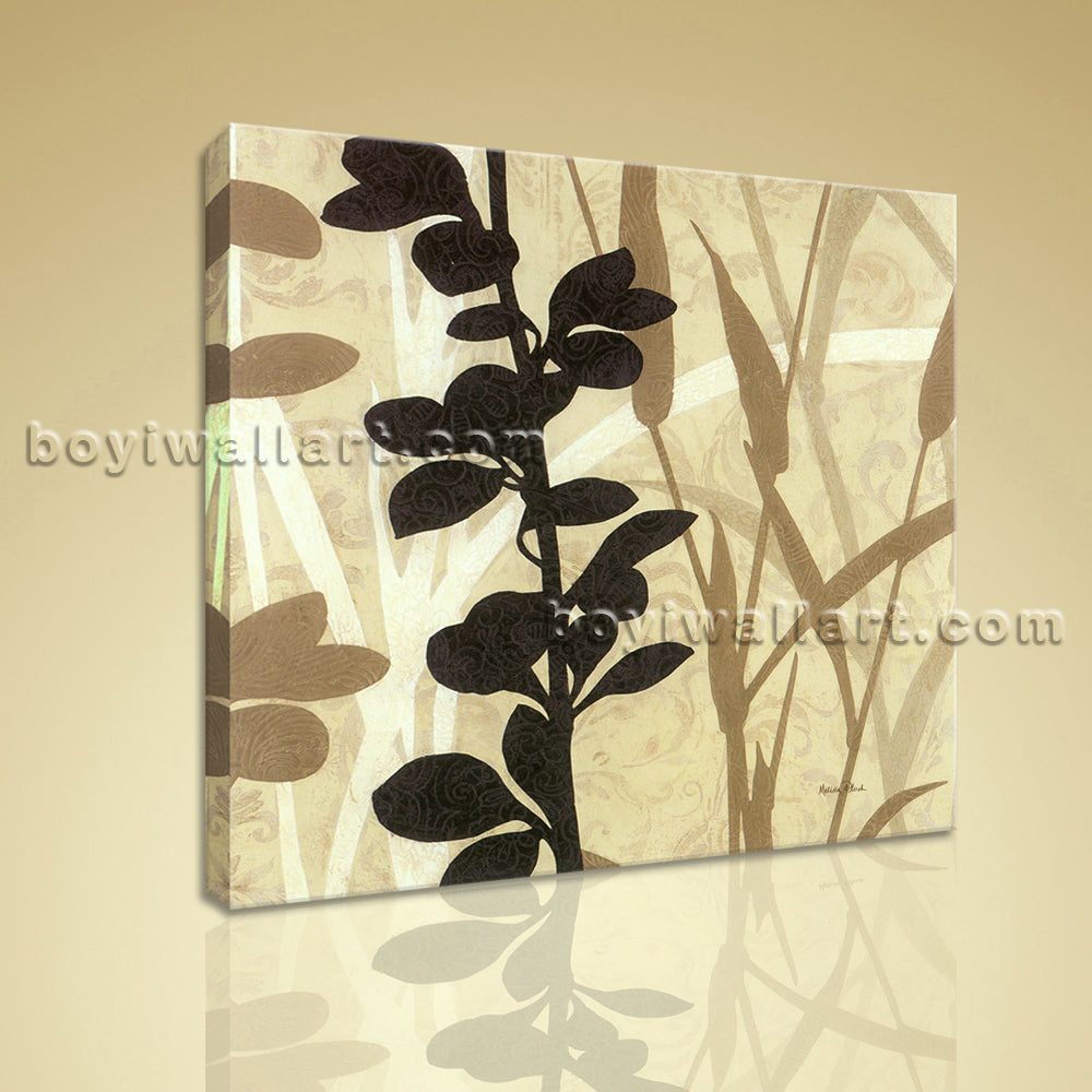 Contemporary Abstract Floral Painting HD Print Picture On Canvas Wall Art Decor