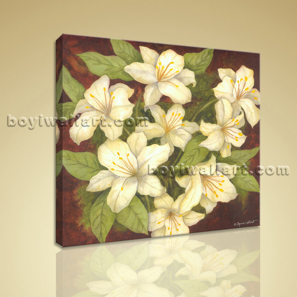 Contemporary Abstract Floral Painting HD Print Picture On Canvas ...