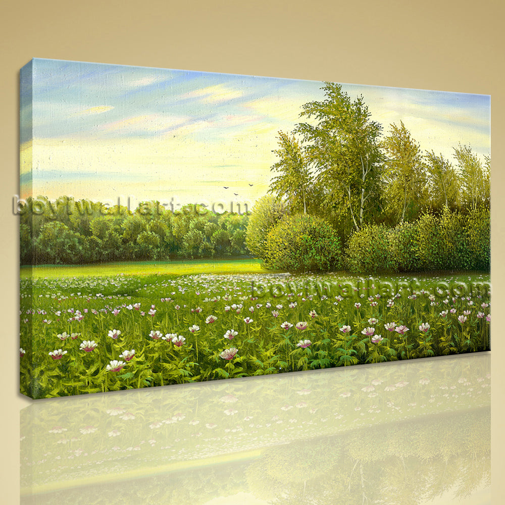 Landscape Painting HD Print Canvas Wall Art Gallery Wrapped Home Decor