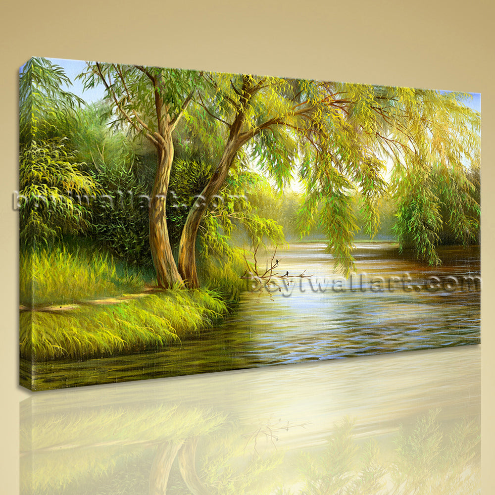 Landscape Painting Picture HD Giclee Print On Canvas Wall Art Home Decor