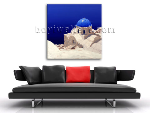 HD Photo Print Mediterranean Landscape Picture Canvas Wall Art Photography