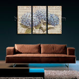 Contemporary Abstract Floral Painting Hydrangea Flower Picture HD Print Canvas