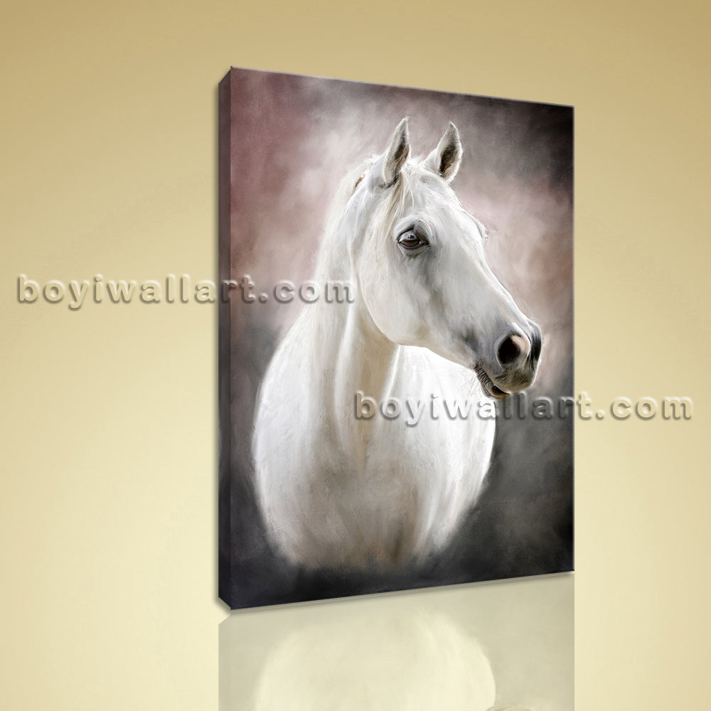 Contemporary Abstract Painting HD Printed On Canvas Horse Wall Art Home Decor