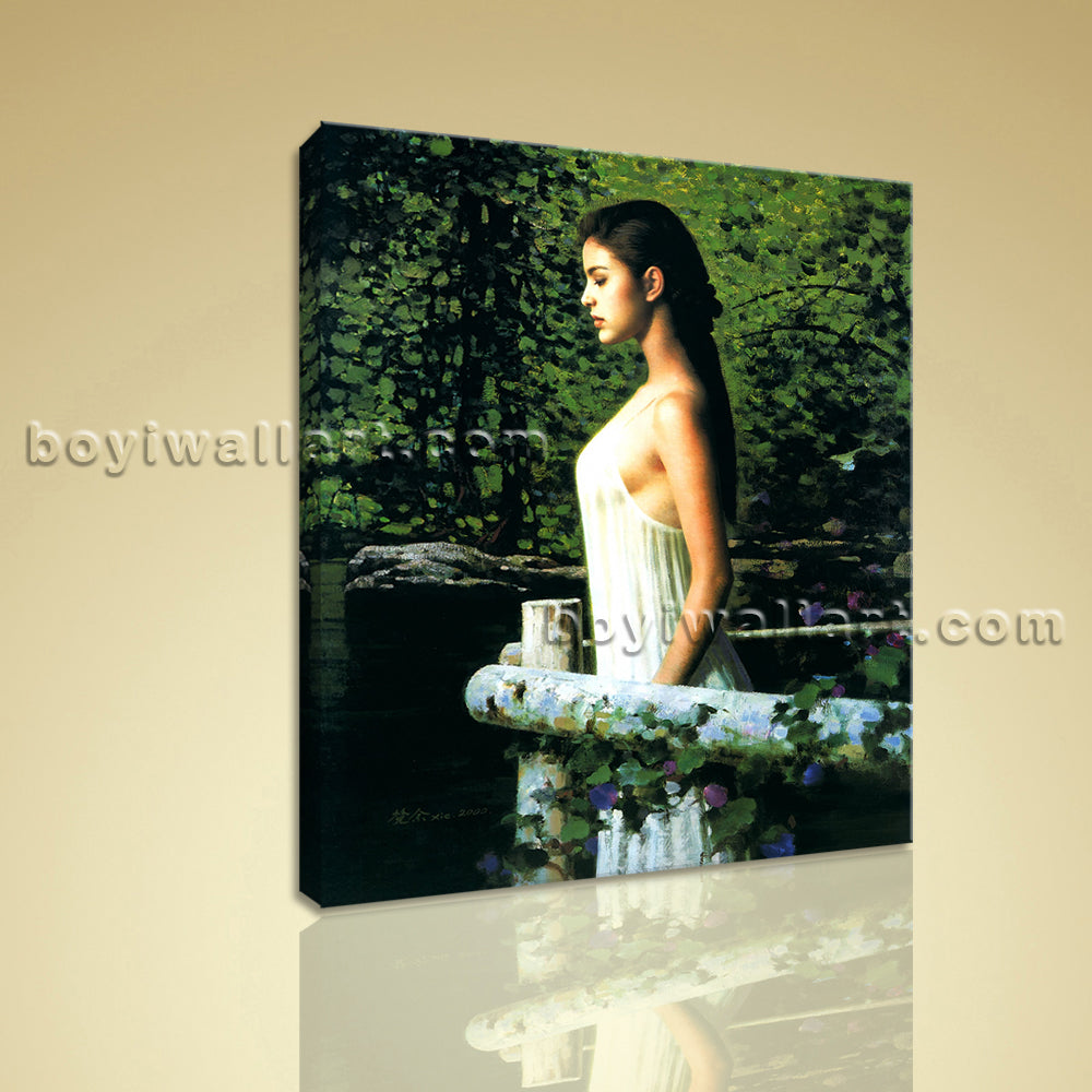 HD Print Of Nudes Girl Painting Realism Picture On Canvas Bathroom Wall Art
