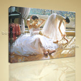 Modern HD Print Of Ballet Girl Dancer Canvas Wall Art Living Room Decor