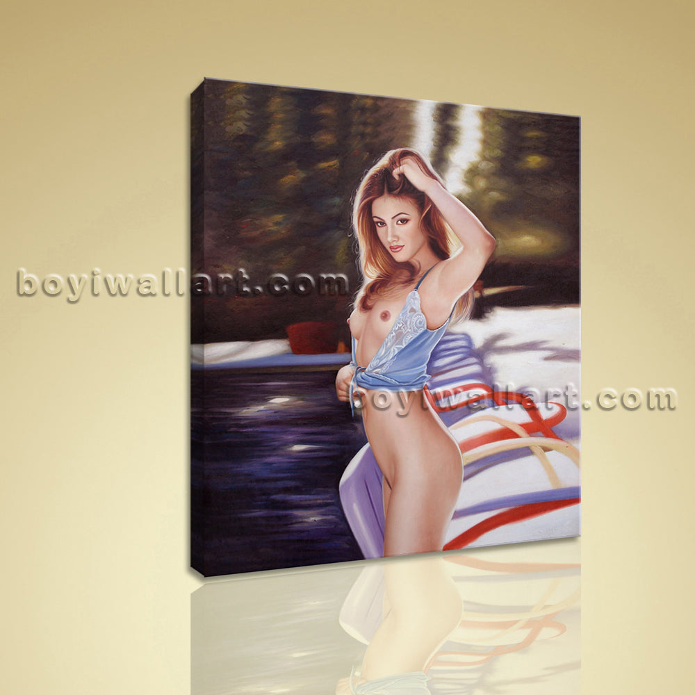 HD Print Body Art Picture Sexy Girl Giclee Print On Canvas Home Wall Art Decor