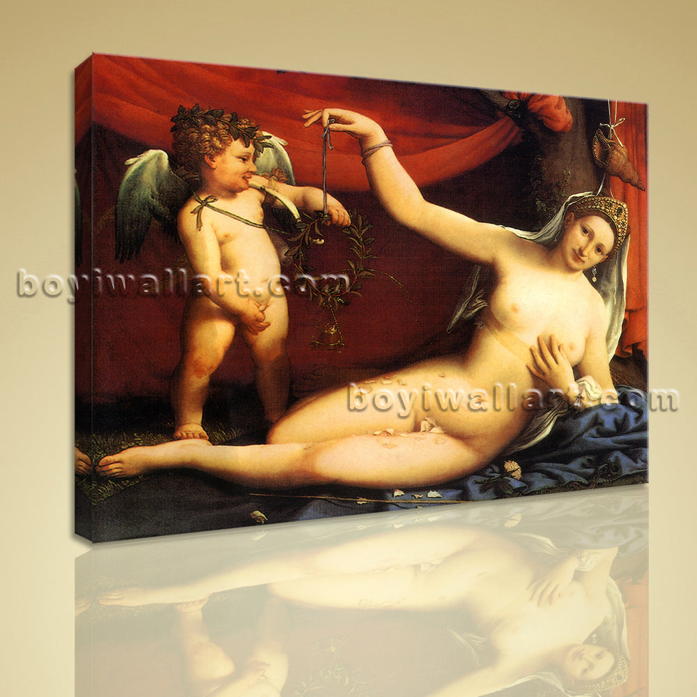 HD Print Angels Painting Picture On Canvas Ready To Hang Classical