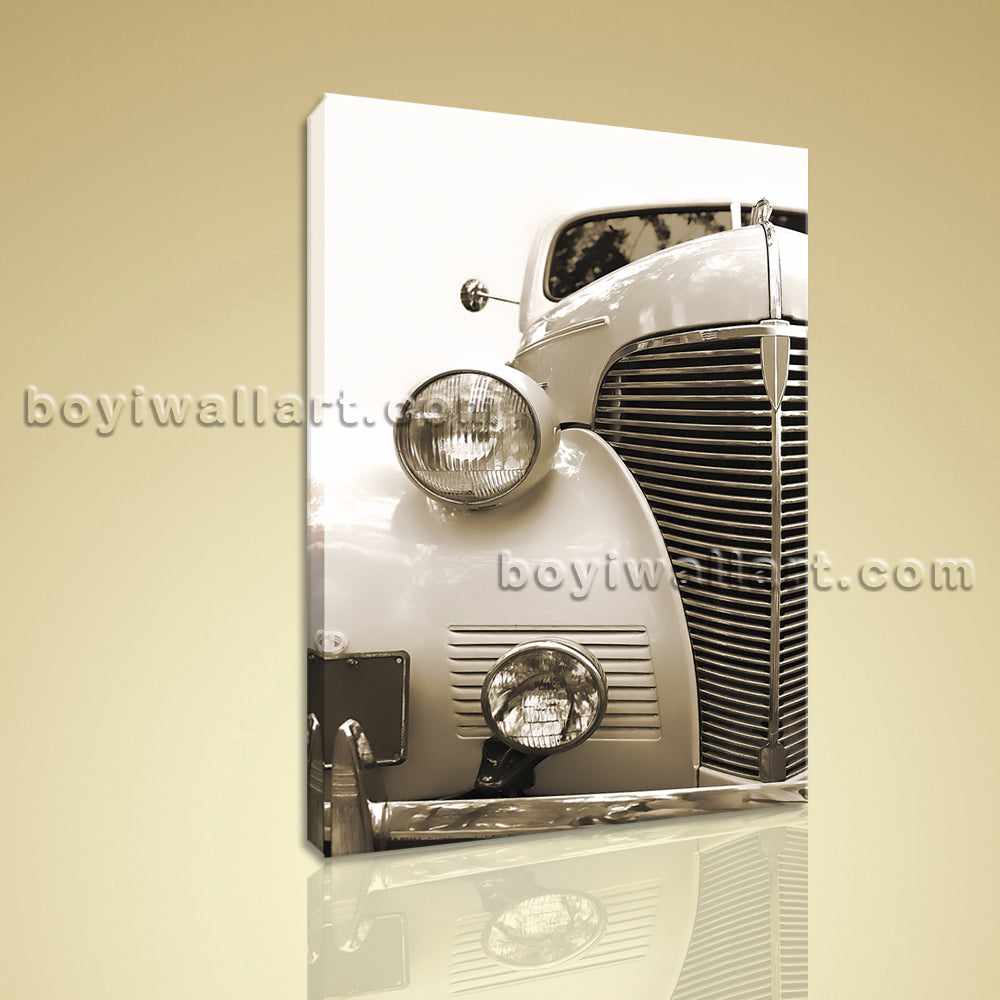 HD Picture Print On Canvas Wall Art Vintage Car Transportation Modern Abstract