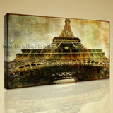 HD Print On Canvas Retro Landmarks The Eiffel Tower Picture Wall Art Decor