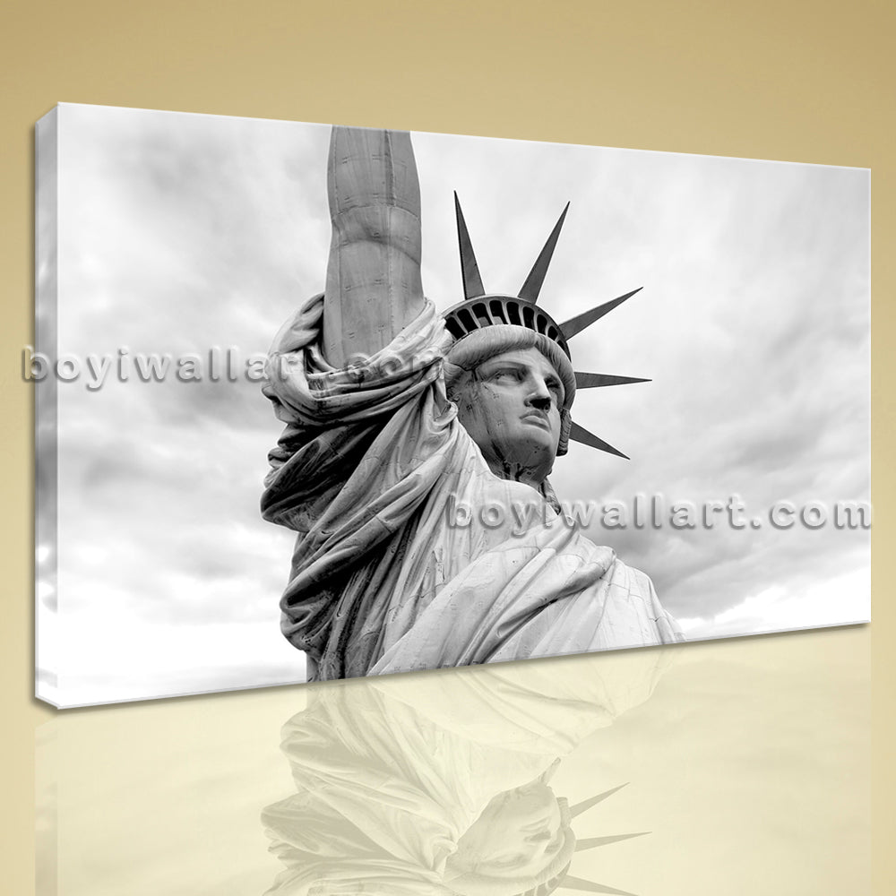 Contemporary Wall Art Picture Landmarks HD Print On Canvas The Statue Of Liberty