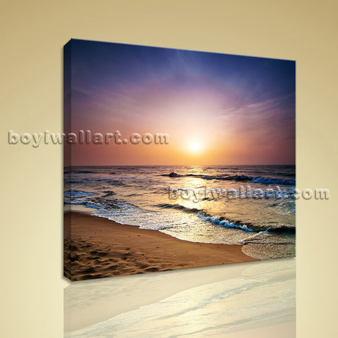 HD Print Canvas Wall Art Beach Seascape For Bedroom Home Decoration Idea