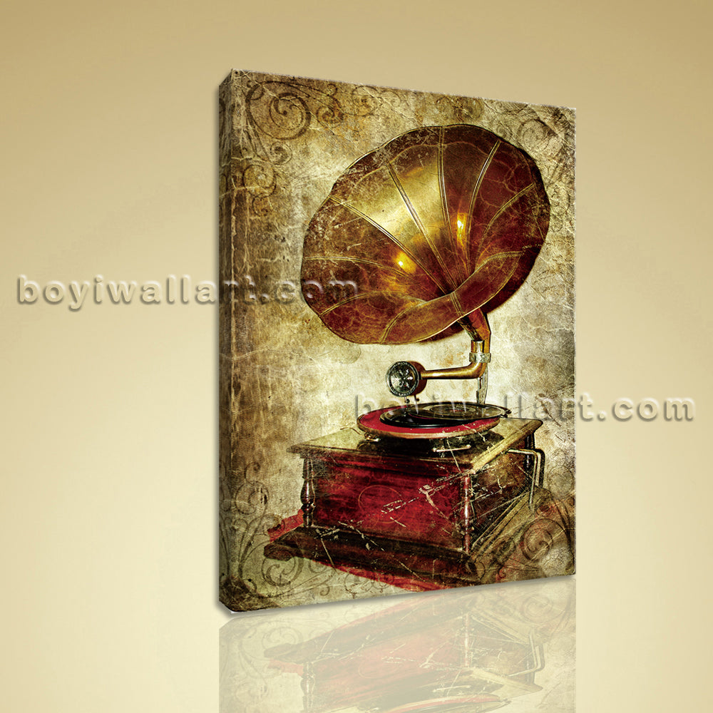 Retro Style Wall Art Picture HD Print Contemporary Abstract Wall Art ...