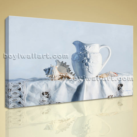 Tableware Pictuire HD Print Canvas Wall Art For Kitchen Stretched Ready To Hang