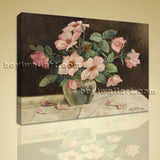 Modern Abstract Floral Painting Bouquet Flower HD Print On Canvas Wall Art