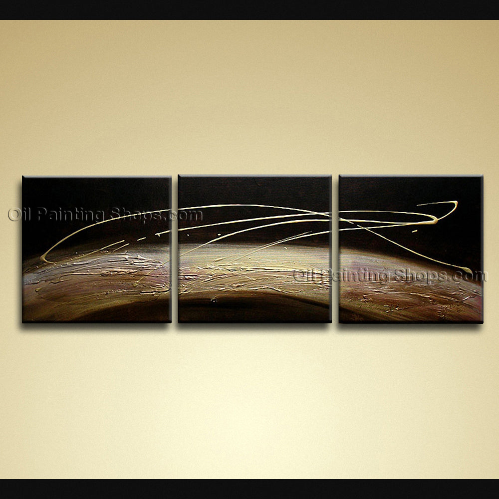 Hand-painted Amazing Modern Abstract Painting Wall Art Ready To Hang ...