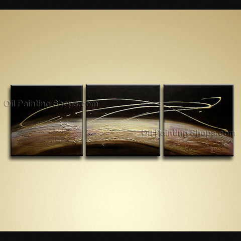 Hand-painted Amazing Modern Abstract Painting Wall Art Ready To Hang