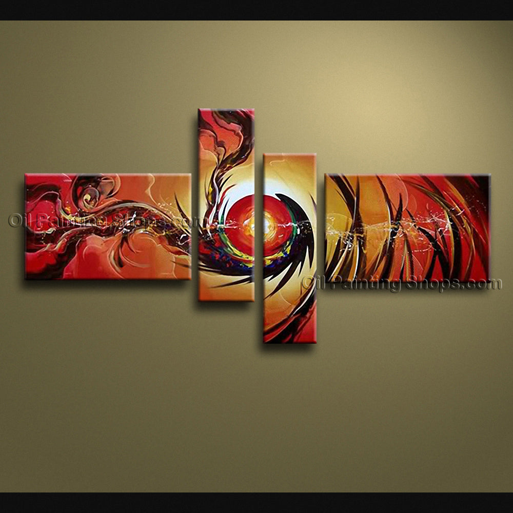 Hand Painted Large Modern Abstract Painting Wall Art On Canvas Artworks