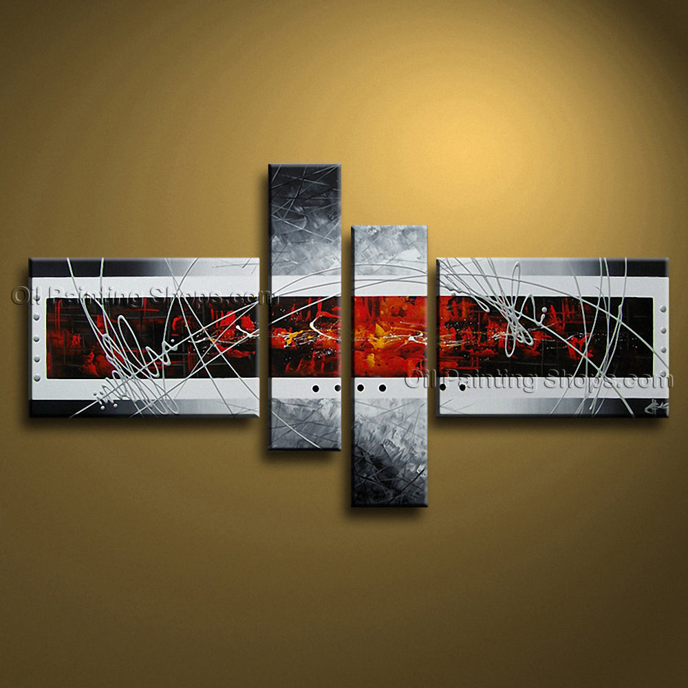 Hand-painted Large Modern Abstract Painting Wall Art Artwork Images