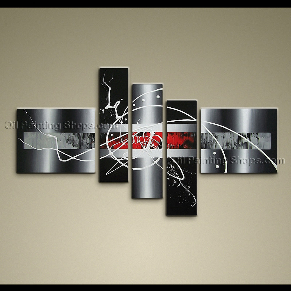 Hand-painted Large Modern Abstract Painting Wall Art Decoration Ideas