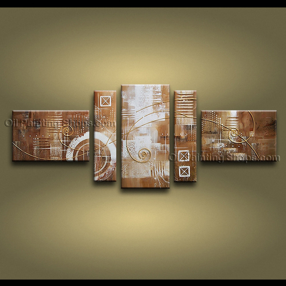Handmade Artcrafts Large Modern Abstract Painting Wall Art Artist Artworks