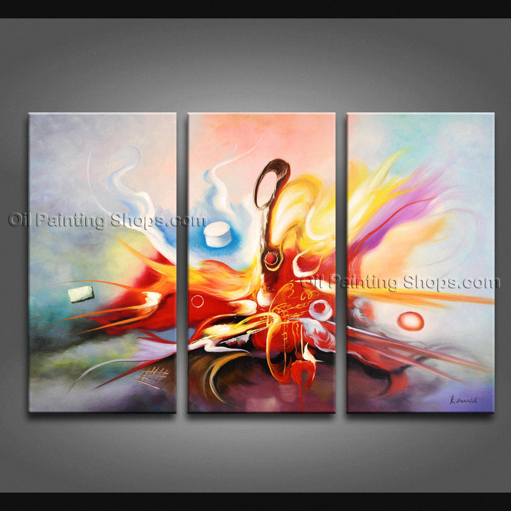 Hand Painted Amazing Modern Abstract Painting Wall Art Contemporary Decor