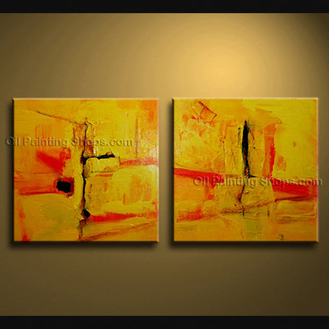 Hand Painted Stunning Modern Abstract Painting Wall Art Gallery Wrapped
