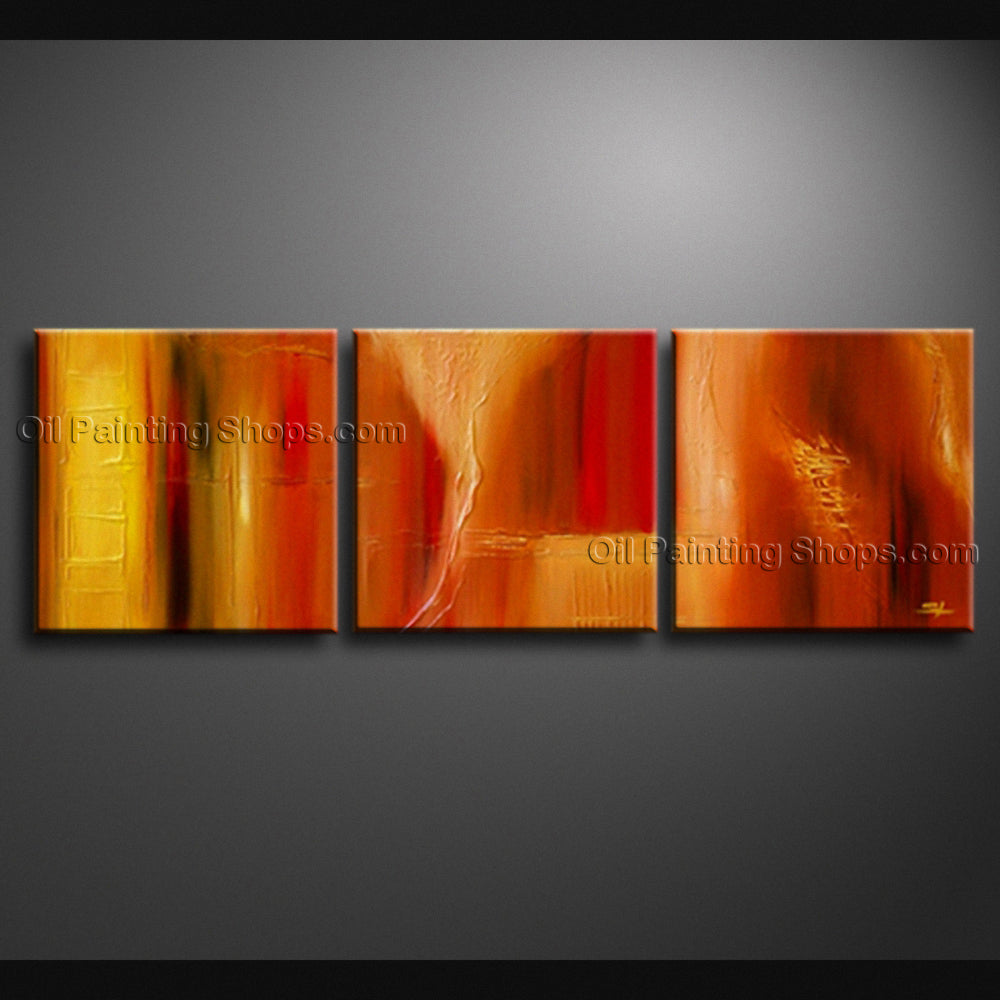 Hand Painted Beautiful Modern Abstract Painting Wall Art Inner Stretched