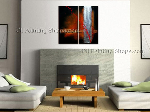 Hand-painted Amazing Modern Abstract Painting Wall Art Interior Design