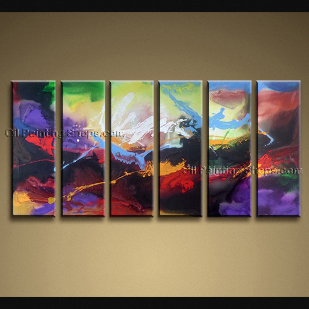 Handmade Artcrafts Huge Modern Abstract Painting Wall Art Artwork Pictures